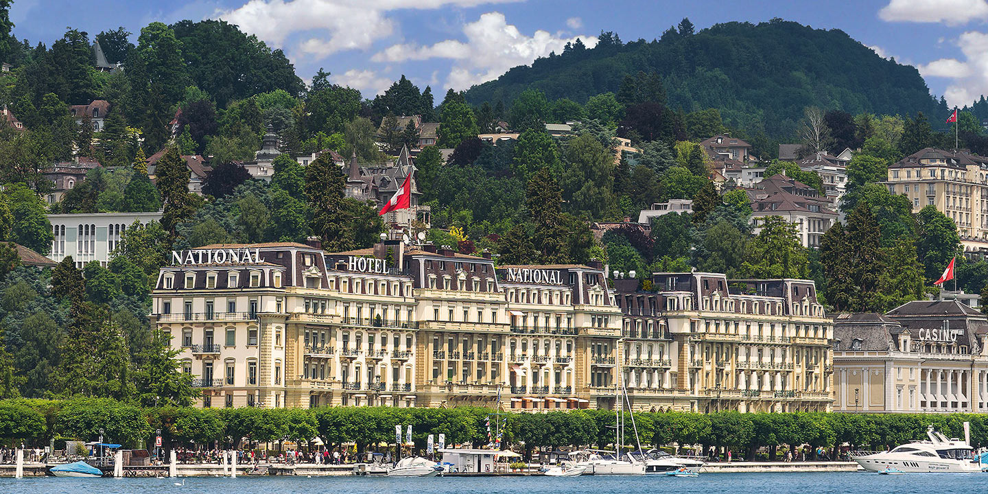 Grand Hotel National , Lucerne / Switzerland
