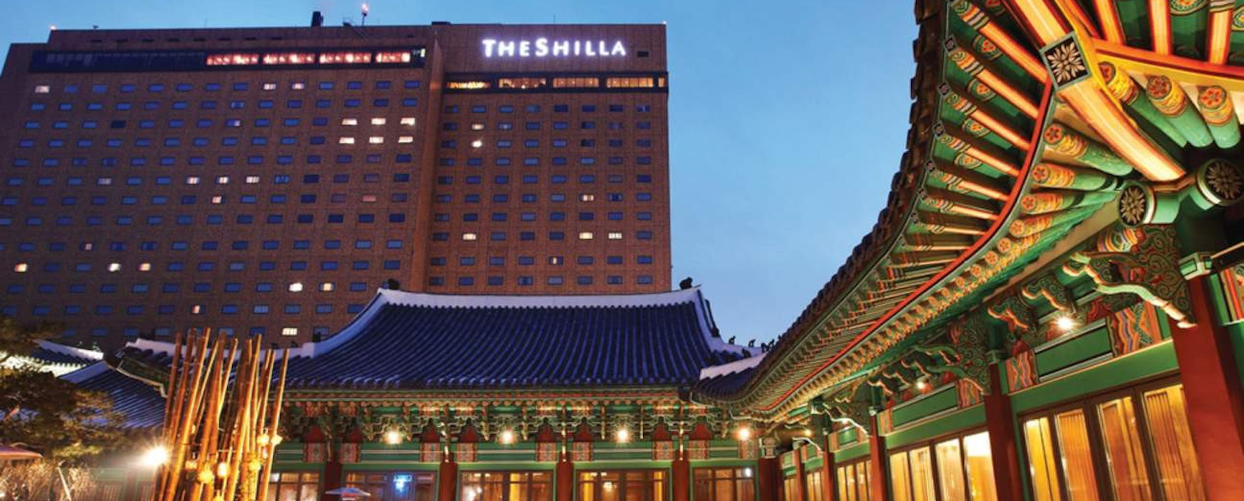 The Shilla hotel , Michelin starred ,  Seoul / Korea